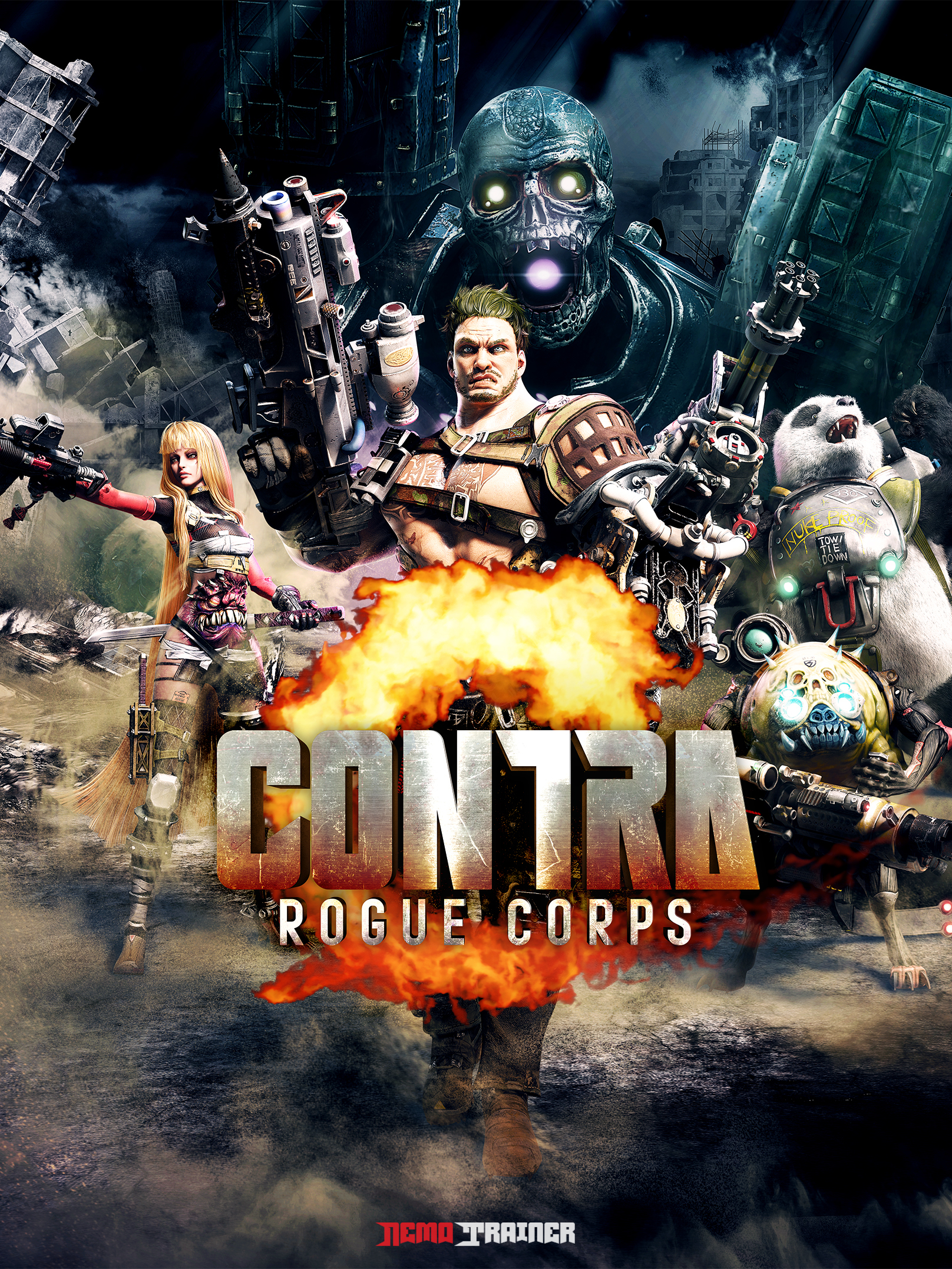 contra: rogue corps cover